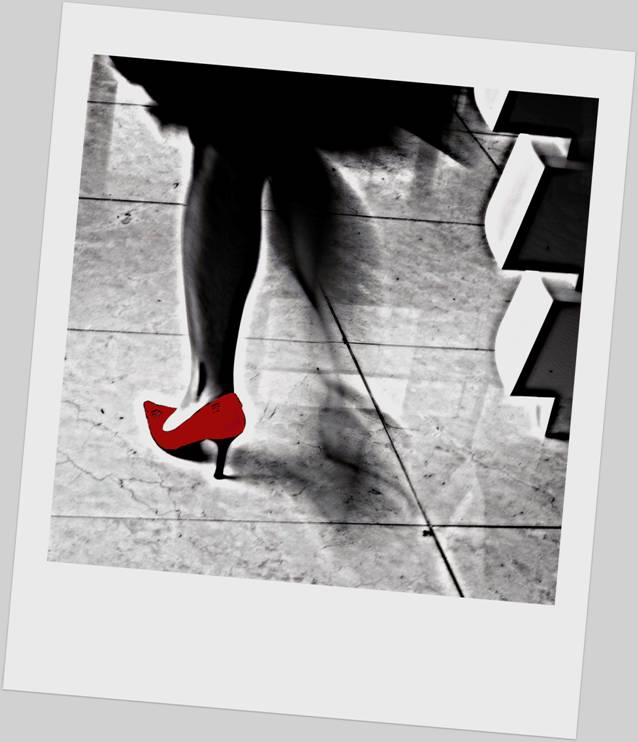 Red Shoe for Poem