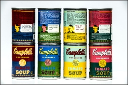 Campbell's Soup Limited Edition. Framed.